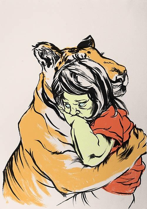 tigerhug
